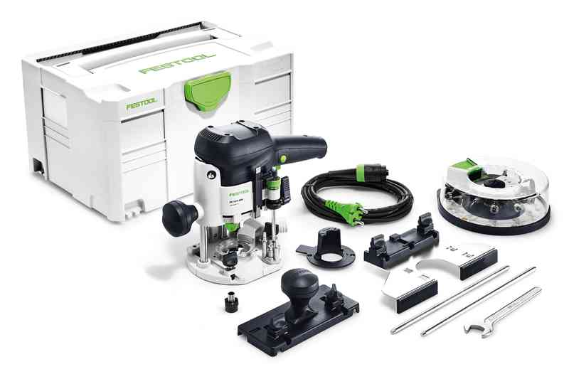 Festool Overfræser OF 1010 EBQ-Plus + Box-OF-S 8/10x HW