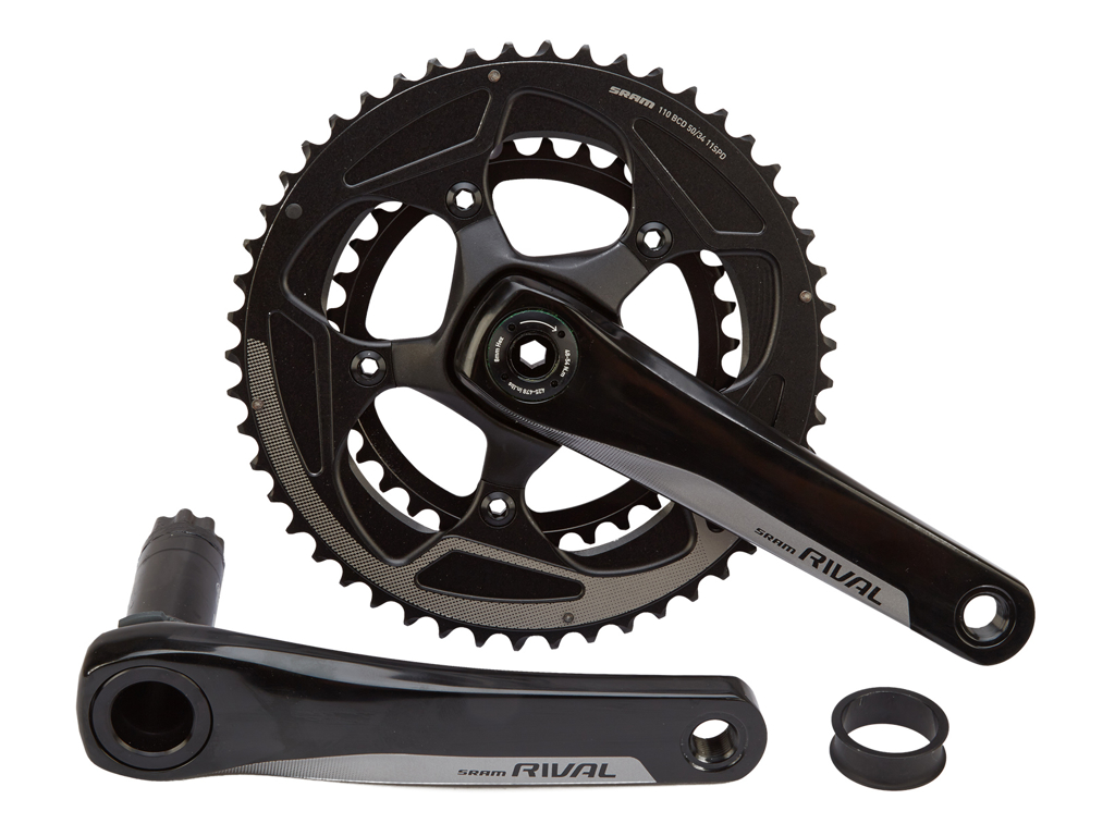 Sram Rival 22 - Kranksæt - 50/34T - BB30 - 172,5 mm - 2 x 11 gear