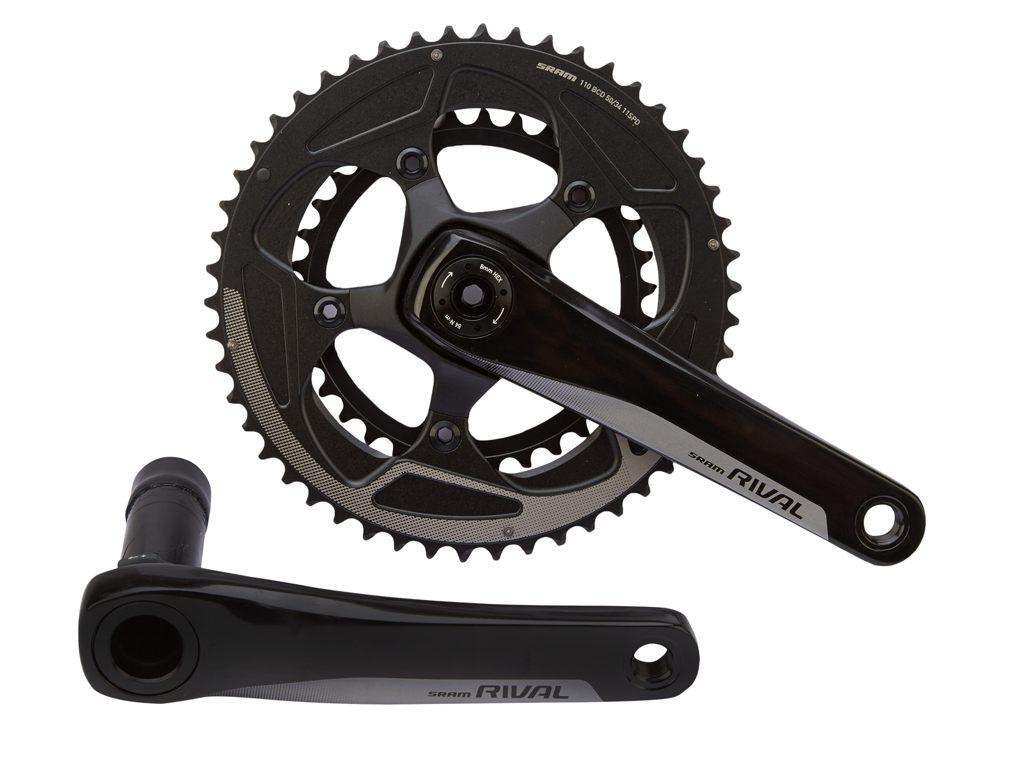 Sram Rival 22 - Kranksæt - 50/34T - BB30 - 175 mm - 2 x 11 gear