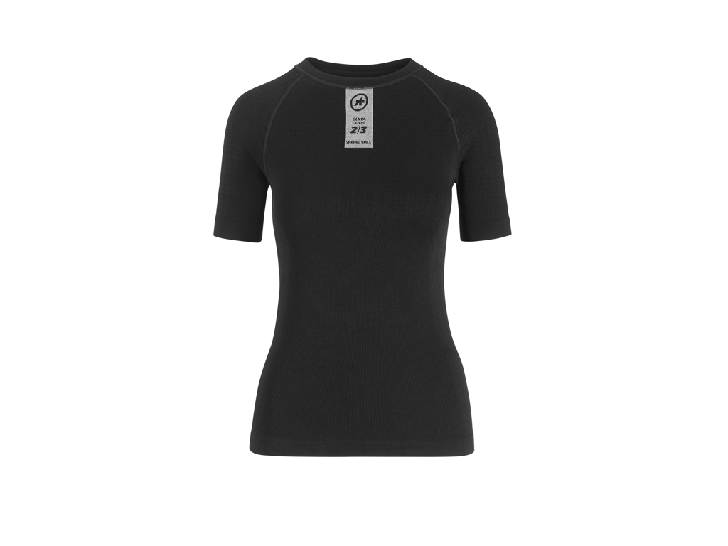 Assos Skinfoil Spring/Fall Base Layer - Svedundertrøje - K/Æ - Sort - Str. 0