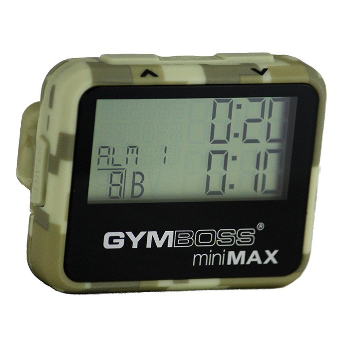 Gymboss miniMAX interval timer (Camouflage)